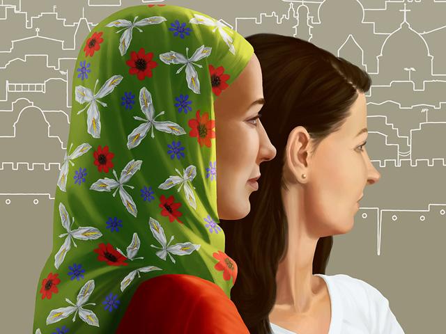 Yksi Lähi-itä neljä tarinaa